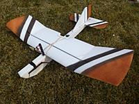 Name: IMG_4952.JPG Views: 88 Size: 77.6 KB Description: Crashtest Hobbies - Albatross, in EPP Foam. Slow flying, self righting.