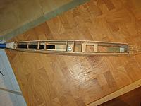Name: 36 - Fuselage bottom sheeting left off.jpg Views: 41 Size: 302.5 KB Description: