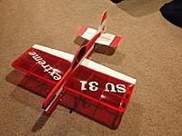 Name: 21AF43AF-479B-4A6F-B4F5-A76FCDE2DAF0.jpg Views: 10 Size: 111.6 KB Description: Electrifly Extreme SU 31