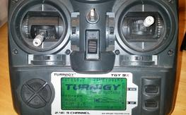 Turnigy 9x with Dragon Link V2 system
