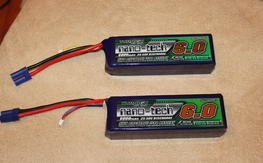 Turnigy nano-tech 4s 6000mah 25-50c lipos
