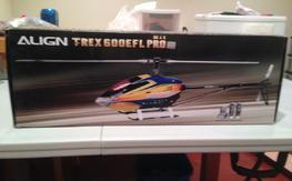 Align Trex 600EFL Pro Flybarless