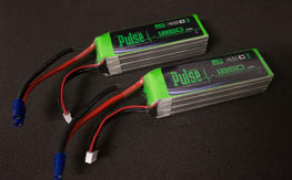 6s 1250mah 45c batteries, Pulse and Align packs, for 6s 450L Dominator