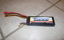 2 LiPo 2S 5000mAh Batteries