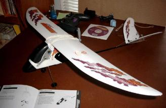 Wing mounted and ready to fly.