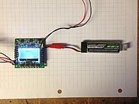 Name: KK2 6.jpg Views: 54 Size: 60.2 KB Description: 1S LiPo plugged in to supply 4V