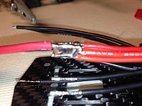 Name: 2014-10-26 00.01.56.jpg Views: 58 Size: 495.7 KB Description: Solder blob for the + wires