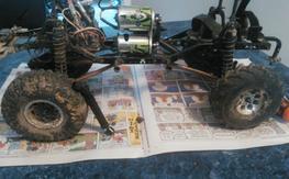 Axial scx10 Jeep Rubicon dual motor