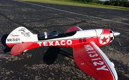 "GeeBee 55"" Upgraded ESC and Sullivan Tail Wheel"