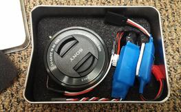 Sony NEX 5-7 remote controlled zoom lens. complete kit