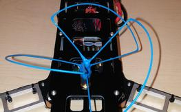 QAV500 V2 with 540 alum arms and Vector fc and 30amp Ztw Spider escs, 1.3 fpv vtx and