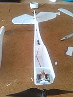 Name: Top view.jpg Views: 80 Size: 472.8 KB Description: Firewall and bulkhead glued in.