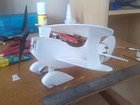 Name: Test fitting.jpg Views: 39 Size: 875.0 KB Description: Just the bottom main wings glued so far