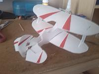 Name: Another view of paint.jpg Views: 42 Size: 695.9 KB Description: Top wing not glued yet.