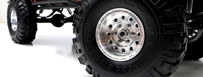 Just glue them up to your favorite tires and your rig will be instantly transformed.