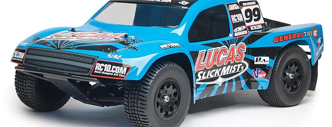 The new Lucas Slick Mist body is well-detailed to make it look like its full-scale counterpart.