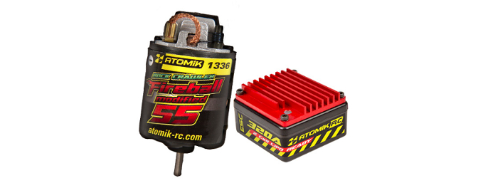 The Atomik 540 55T Brushed Motor and 320A Waterproof ESC Combo was made specifically for RC Rock Crawlers.