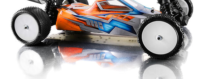 XRAY XB4 2WD 1/10-scale electric buggy.