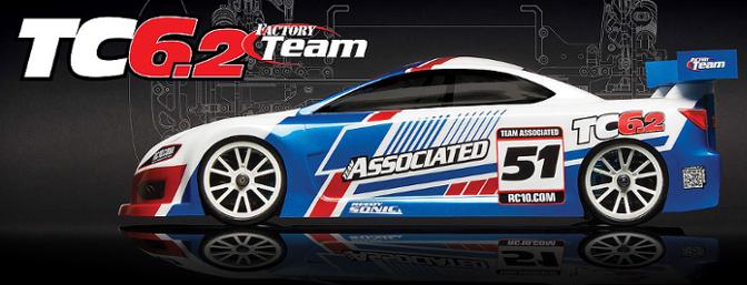 Team Associated RC10TC6.2 Factory Team Kit.