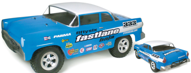 "Parma - Fifty Six Fastlane SC .040"" Clear Body � (Item no. 1240, Street Price $35.99)"