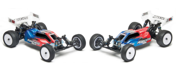 Your choice of either rear or mid motor configurations.