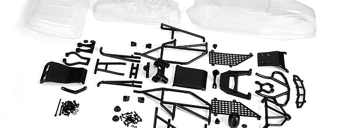 The PRO-2 Performance Buggy Conversion Kit (item no. 6254-00) for the Pro-Line PRO-2 short course truck kit.