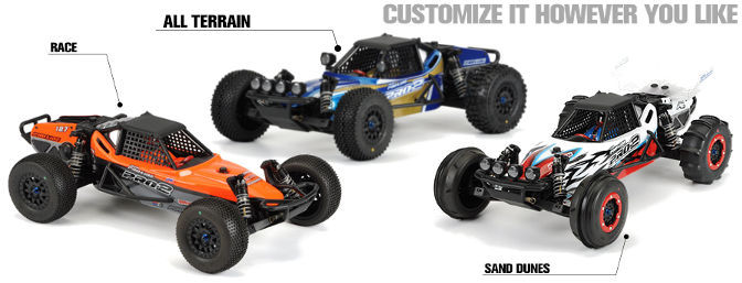 Check this out! A great example of the build possibilities with the buggy conversion kit.