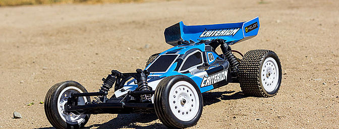 The Helion Criterion buggy in stock form.