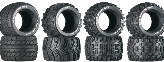If you want to mount the tires on your own wheels, Duratrax offers them unmounted as well.