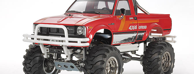 Tamiya Toyota Mountain Rider 4x4 Pick-up (item no. 84386).