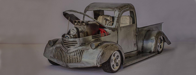 Byron Townsend's scratch-built 1941 Chevy Pickup Pro Street Truck.