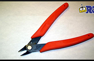 Xuron Micro Shear Flush Cutter (item no. 410).