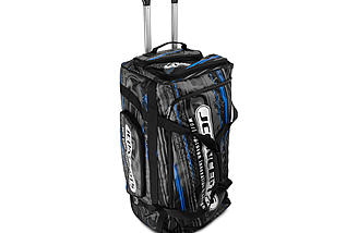 Upright, front view - JConcepts Medium Roller Bag.