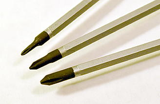 0, 00 & 1 size Phillips are included with the Tool Set.