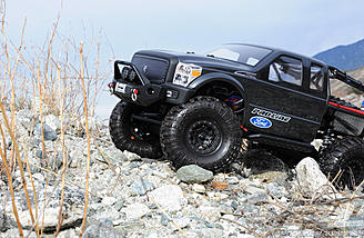 "Add scale looks and convenient function of a beadlock wheel with the Pro-Line FaultLine 1.9"" wheels."