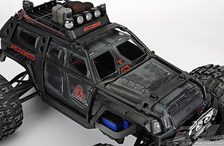 The Traxxas ExoCage looks like it fits perfectly with the Apocalypse body.