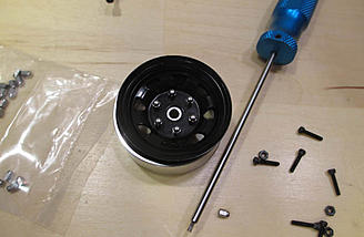 Along with hex driver for the screws, you will need a 3mm socket driver for the Acorn Nuts.