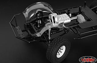 Fenders installed on a RC4WD Trail Finder 2 chassis.