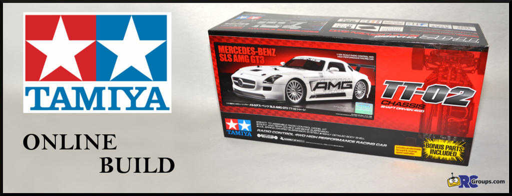 ONLINE BUILD � Tamiya TT-02 Mercedes-Benz SLS AMG GT3
