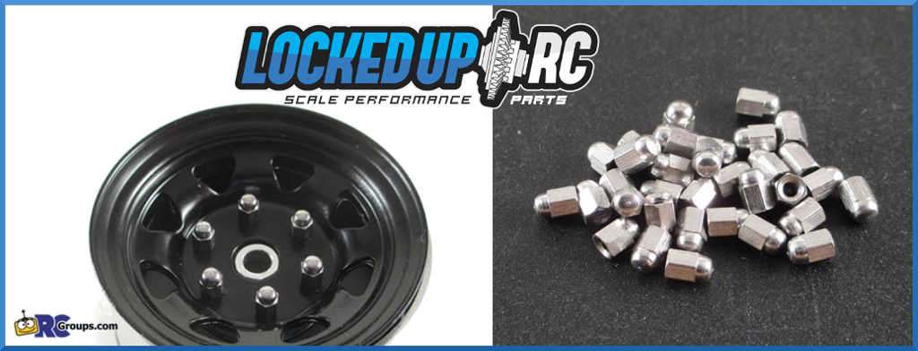 Locked Up RC M2 Acorn Nuts