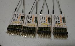 4, FrSky V8R7-II HV Receivers