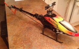 FS: Protos 500 Carbon Fiber with lots of spares!!