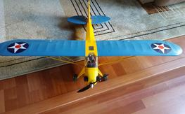 HobbyKing J-3 Cub (Blue and Yellow) RC Airplane - $125