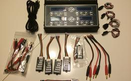 Hitec X4 AC Plus four-port battery charger