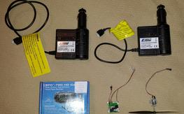 Misc small parts, items, stock HH chargers...