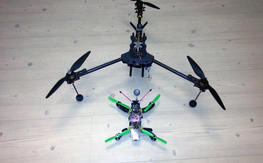 Large Carbon Reptile Tricopter, ET Vector, Retracts