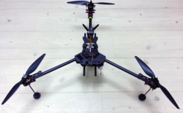 Beautiful CF Tricopter,  �23min, Gimabal Ready, Vector Fc