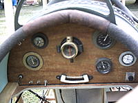 Name: curtis jenny 008.jpg Views: 98 Size: 231.8 KB Description: rear cockpit instrument panel.