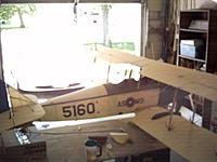 Name: curtis jenny 814.jpg Views: 52 Size: 55.6 KB Description: hand made propeller cver on wing.