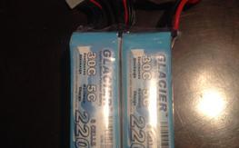 FS $50 two Glacier 2200 6s batteries